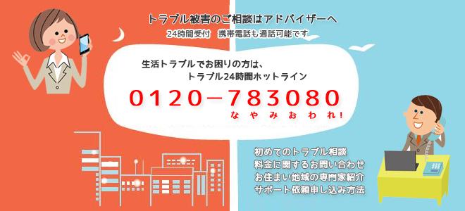 ホットライン電話トラブルサポート
